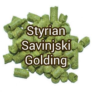Хмель Styrian Savinjski Golding (Савинский Голдинг) 3,5%, 100 гр.