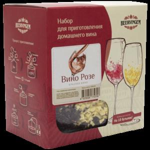 """Набор для приготовления домашнего вина """"Вино Розе"""""""
